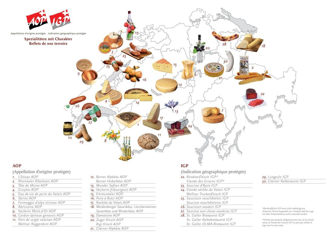 SwissGIProductsMap&List