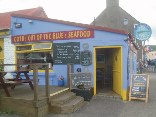 TGEFA — Out of the Blue (fishrestaurant)